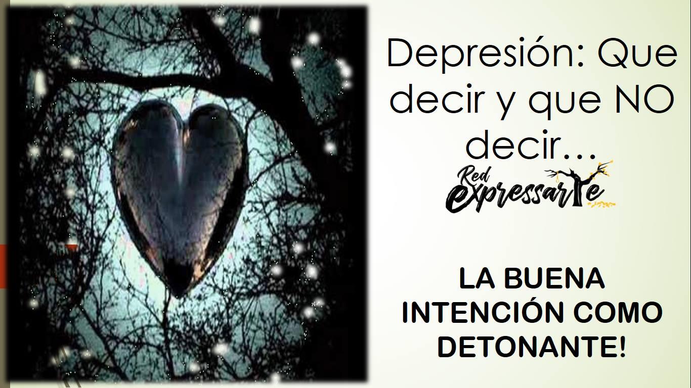 Depresión: Que decir y que NO decir.